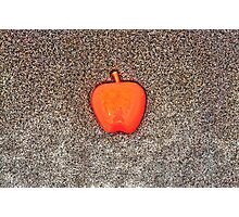 Apple on the Beach - part 10 Photographic Print