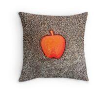 Apple on the Beach - part 10 Throw Pillow