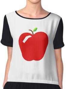 Apple a day Chiffon Top