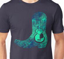 Cowboy Boot Unisex T-Shirt