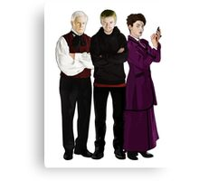 Doctor Who - The Three Masters Canvas Print