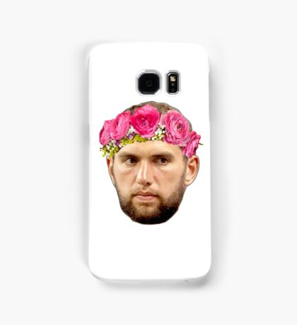 Flower Crown Andrew Luck Samsung Galaxy Case/Skin