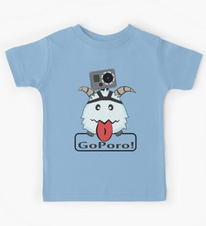 GOPORO! - LEAGUE OF LEGENDS Kids Tee