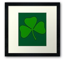 Ireland Irish Shamrock Framed Print