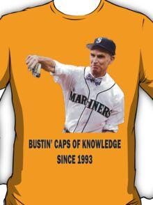 Bill Nye Bustin' Caps T-Shirt