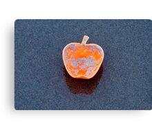 Apple on the Beach - part 12 Canvas Print