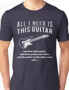 Love Guitar T-shirt Unisex T-Shirt