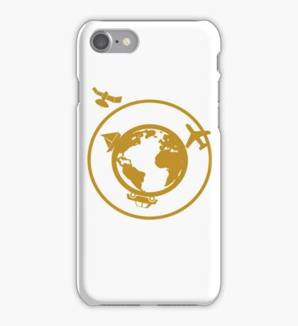 Golden World iPhone Case/Skin