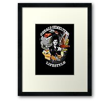 Gerald Shmeltzer Lifestyle ( dark shirt version ) Framed Print