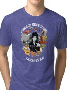Gerald Shmeltzer Lifestyle ( dark shirt version ) Tri-blend T-Shirt
