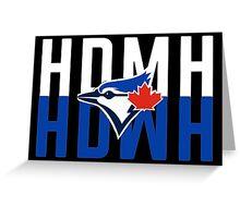 Marcus Stroman HDMH Blue Jays Greeting Card