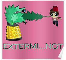Extermi-not Powerpuff Eleventh Doctor Poster