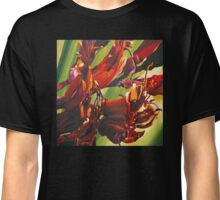 New Zealand  native flax flower painting. Classic T-Shirt