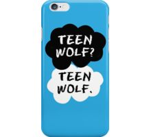 Teen Wolf - TFIOS  iPhone Case/Skin