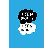 Teen Wolf - TFIOS  Photographic Print