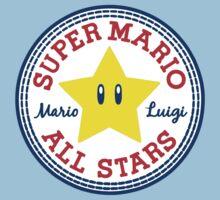 Super Mario All Stars Kids Tee