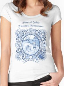 Awesome Adventures Women's Fitted Scoop T-Shirt