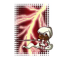 Chibi Electric Rose Photographic Print