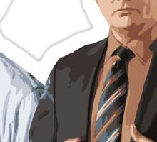 The Office Jim&Dwight Sticker
