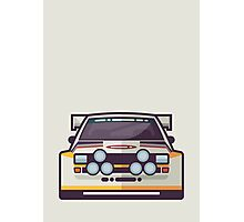 Audi Sport Quattro S1 - HB Livery (White) Photographic Print