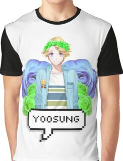 Mystic Messenger Yoosung Kim Graphic T-Shirt