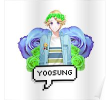 Mystic Messenger Yoosung Kim Poster