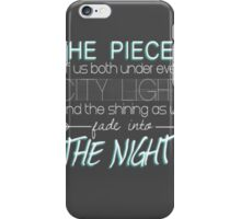 Beside You iPhone Case/Skin