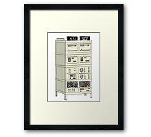 The Alex 9000 Computer c1981 Framed Print