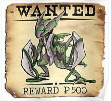 Alolan Kabutops - Most Wanted Poster Poster