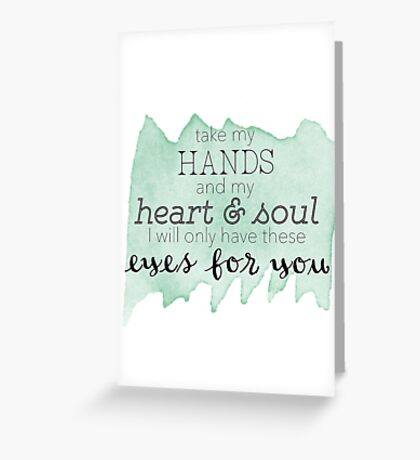 only one Greeting Card