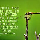 2 Corinthians 12:9 by Kathleen Daley