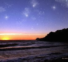 Star-Spangled Sunset by RC deWinter