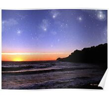 Star-Spangled Sunset Poster