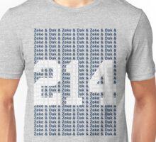 (say it fast) Zeke & Dak & (WHITE 214) Unisex T-Shirt