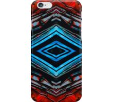 Blue Diamond Art by Sharon Cummings iPhone Case/Skin