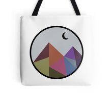 Colorful Pyramids  Tote Bag