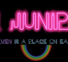 San Junipero Sticker