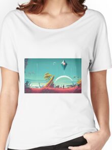 No Mans Sky - HD Large Women's Relaxed Fit T-Shirt