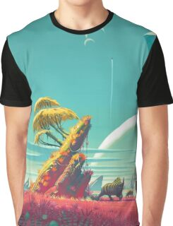 No Mans Sky - HD Large Graphic T-Shirt