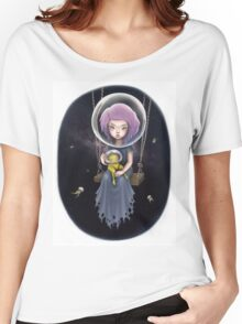 THE SPACE SWING Women's Relaxed Fit T-Shirt