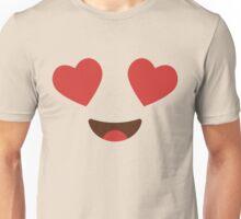 Emoji Heart and Love Eyes Unisex T-Shirt