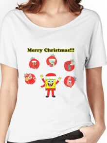 SpongeBob and friends Christmas LIMITED TIME ONLY Women's Relaxed Fit T-Shirt