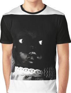 black doll portrait Graphic T-Shirt