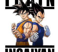 Train Insaiyan - Vegeta & Goku by Cookie money