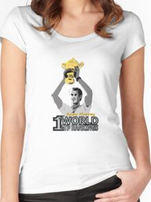 Andy Murray new World 1st ATP Rankings Women's Fitted Scoop T-Shirt
