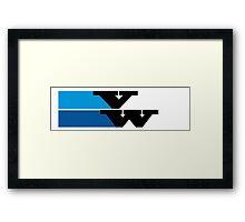 creative VW logo Framed Print
