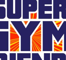 Super Gym Friends Sticker