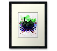 Majoras Mask (Vibrant) Framed Print