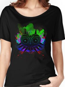 Majoras Mask (Vibrant) Women's Relaxed Fit T-Shirt