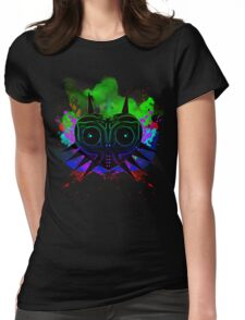 Majoras Mask (Vibrant) Womens Fitted T-Shirt